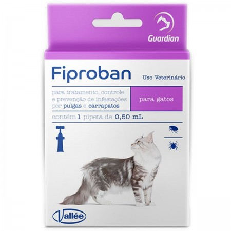 FIPROBAN GATOS FIPRONIL 0,5ML - ANTIPULGAS VALLÉE