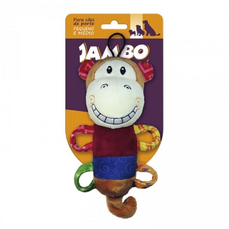 JAMBO PLUSH SMILE MONKEY - UN