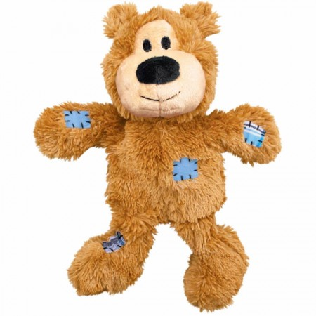 KONG BRINQUEDO P/ CÃES WILD KNOTS BEAR MEDIUM/LARGE ( NKR1 ) BEGE
