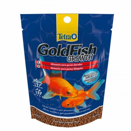 TETRA GOLDFISH GROWTH PELLETS 40G ( 708595 ) - UN