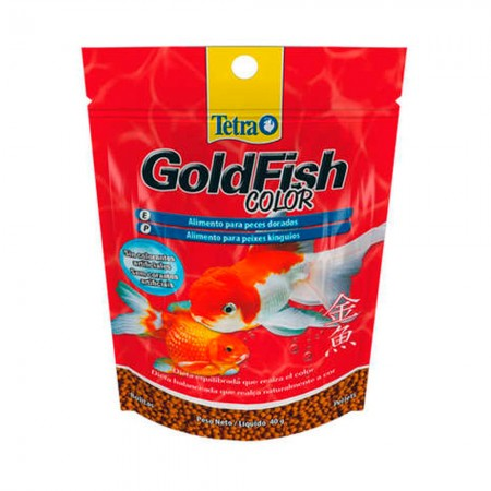 TETRA GOLDFISH COLOR PELLETS 40G ( 708596 )