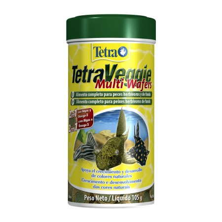 TETRA VEGGIE MULTI WAFERS 250ML 105G - UN