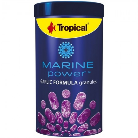 TROPICAL MARINE POWER GARLIC FORMULA GRANULES 600G - UN