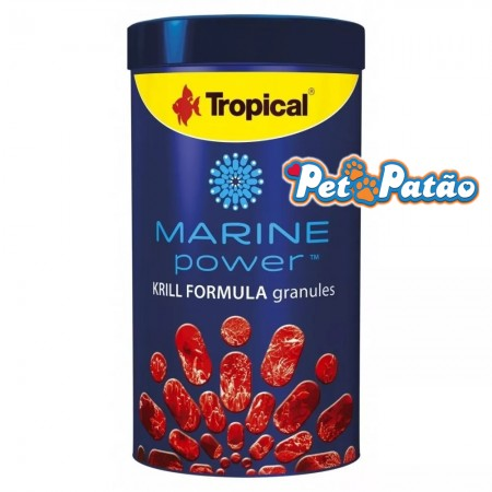 TROPICAL MARINE POWER KRILL FORMULA GRANULES 135G - UN