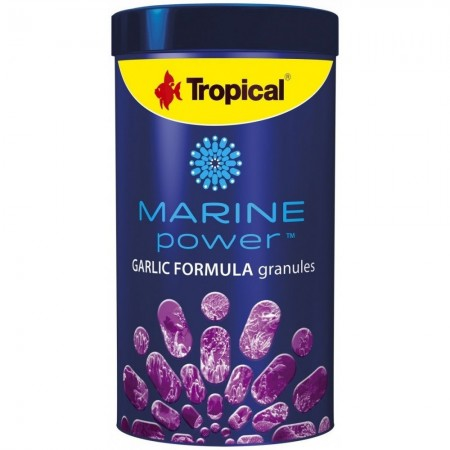 TROPICAL MARINE POWER GARLIC FORMULA GRANULES 150G - UN