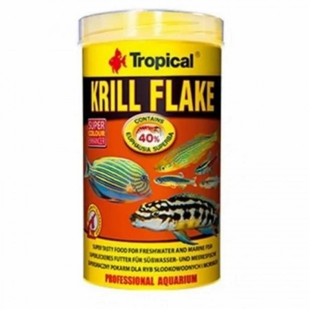 TROPICAL KRILL FLAKES 20G PET PATAO