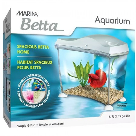 MARINA BETEIRA BETTA AQUARIUM WHITE 6,7L - UN