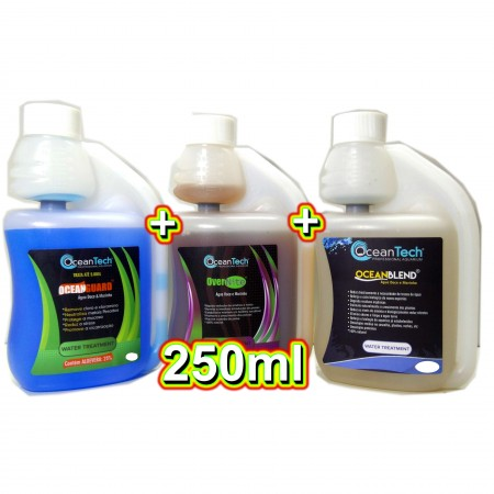 KIT OCEAN GUARD 250ML + OCEAN BLEND 250ML + OVER NITE 250ML - OCEAN TECH