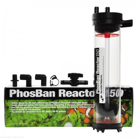 REATOR DE FOSFATO PHOSBAN 150 TWO LITTLE FISHIES PHOSBAN REACTOR - UN