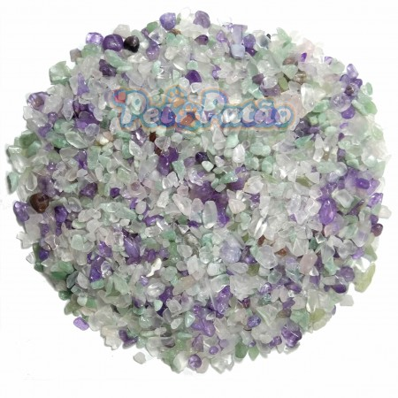 SUBSTRATO SOMA MICROSFERA NATURAL GRAVEL TOP CRYSTAL MIX (3-5mm) - 1KG
