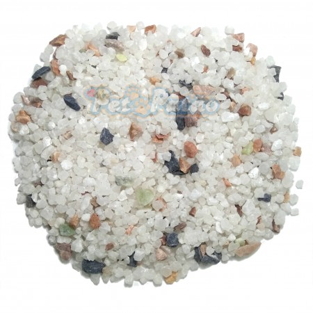 SUBSTRATO SOMA MICROSFERA NATURAL GRAVEL BRIGHT MIX (4-6MM) - 1KG