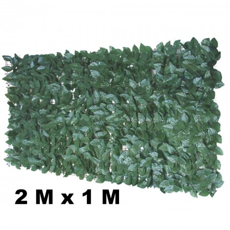 PAINEL ARTIFICIAL MURO INGLES FICUS 2M X 1M