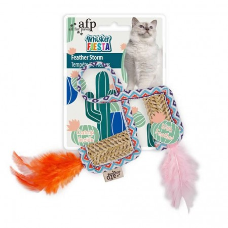 AFP BRINQUEDO GATOS FEATHER STORM - UN
