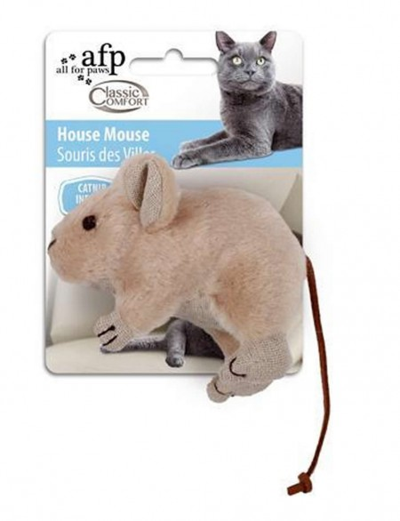 AFP BRINQUEDO GATOS CAT NIP HOUSE MOUSE - UN
