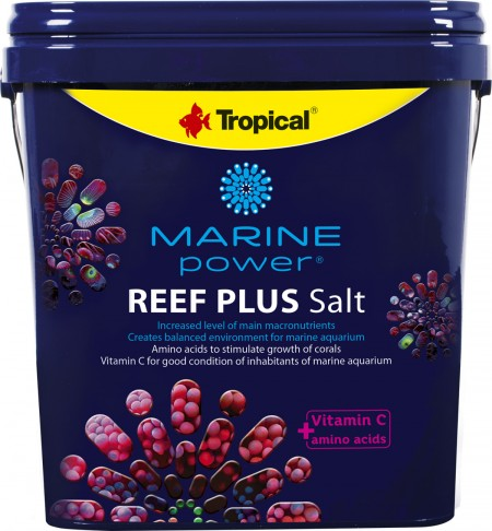 TROPICAL MARINE POWER SAL REEF PLUS SALT BALDE 10KG - UN