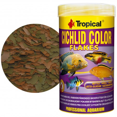 TROPICAL CICHLID COLOR FLAKES 50G - UN