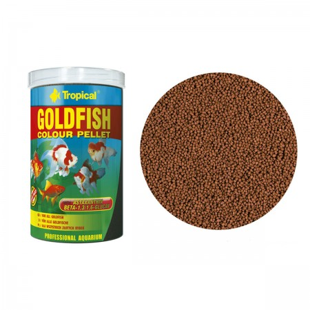 TROPICAL GOLDFISH COLOR PELLET 90G - UN