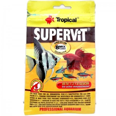 TROPICAL SUPERVIT FLAKES 12G SACHE - UN