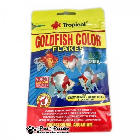 TROPICAL GOLDFISH COLOR FLAKES 12G SACHE - UN