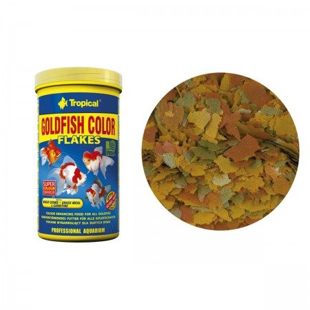 TROPICAL GOLDFISH COLOR FLAKES 50G - UN