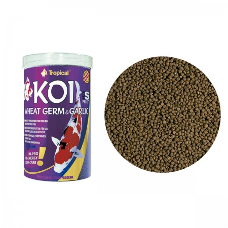 TROPICAL KOI WHEAT GERM & GARLIC SMALL PELLET 400G - UN
