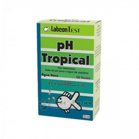 ALCON LABCON TESTE DE PH TROPICAL 15ML - UN