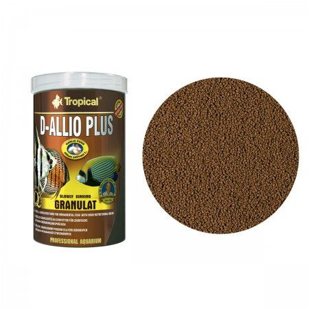 TROPICAL D-ALLIO PLUS GRANULAT 60G - UN