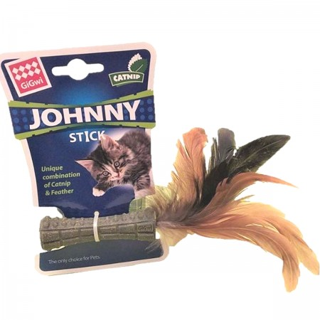 GIGWI MORDEDOR PARA GATOS JOHNNY STICK - UN