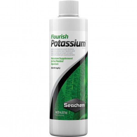SEACHEM FLOURISH POTASSIUM ( FERTILIZANTE - POTASSIO ) 250ML - UN