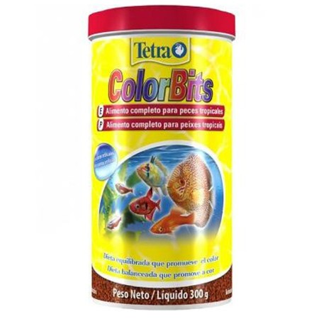 TETRA COLORBITS TROPICAL GRANULES 300G - ( EX COLOR BITS ) - VAL 25-03-2020