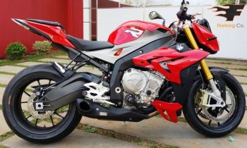 Escapamento FireTong Willy Made para BMW S1000R 2014 2015 Naked