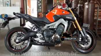 Escapamento FireTong Willy Made para Yamaha MT-09 3x1 Full