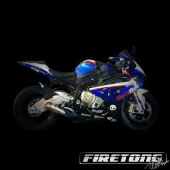 Escapamento Firetong Flame 1 Full BMW S1000XR 2016 e 2017