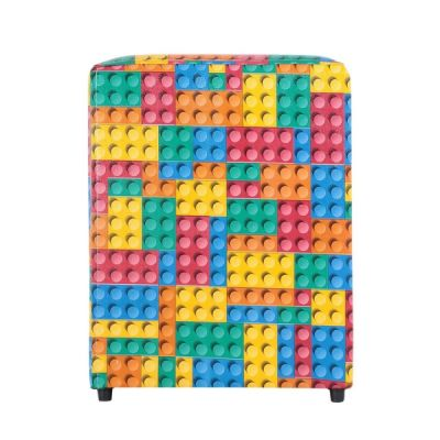 Puff Quadrado Estampado Blocks