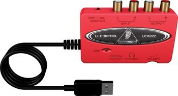 Interface de Audio Behringer UCA222 USB