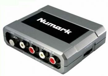 Interface de Audio Numark Stereo IO