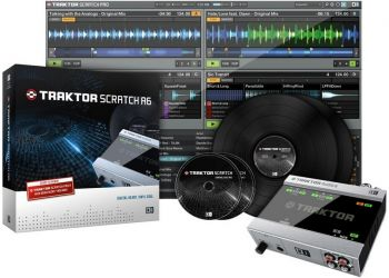 Interface Time Code Traktor Scratch A6 Native Instruments