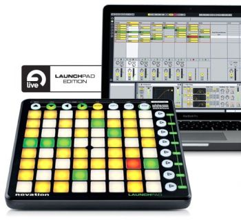 Controlador Sampler LAUNCHPAD Novation