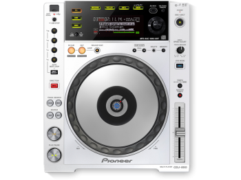CDJ Pioneer 850 W White USB Rekordbox