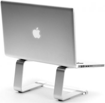 Suporte para Notebook CURV  S1 / S3 Laptop Stand Silver  - foto 6