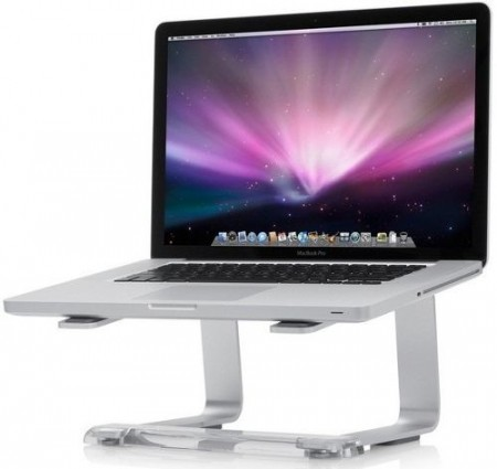 Suporte para Notebook CURV  S1 / S3 Laptop Stand Silver  - foto principal 1