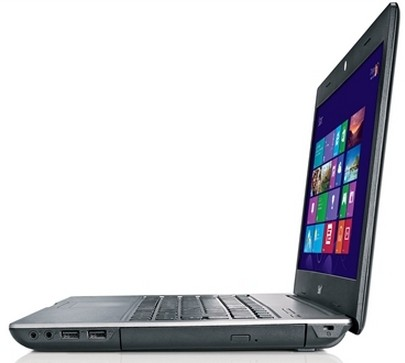 Notebook Positivo Unique 1060 AMD® Vision™ Dual Core RAM 4GB HD500GB + Windows 8  - foto principal 3
