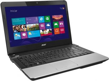 Notebook Acer Aspire AMD E1 1200 500GB 2GB Win 8