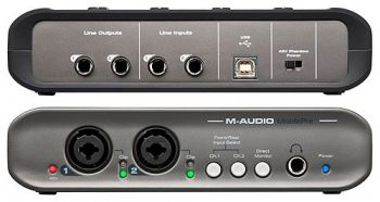 Interface de Áudio M-Audio Fast Track Mobile Pré MK2