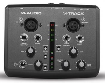 Interface de Áudio M-Audio M Track