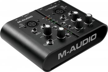 Interface de Áudio M-Audio M Track Plus