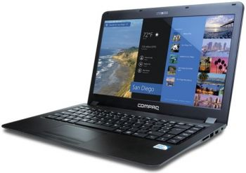 Notebook HP COMPAQ PRESARIO CQ18 INTEL DUAL CORE 1037U 2GB 500GB 14''
