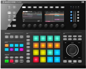Controlador Sampler Maschine Studio Black Native Instruments