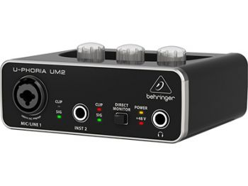 Interface de Audio Behringer Uphoria UM 2