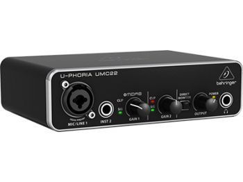 Interface de Audio Behringer Uphoria UMC 22